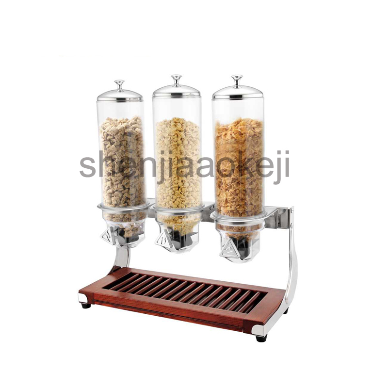 3*4L Oats machine oat nut dried food storage containers miscellaneous grains damp-proof storage bottles 1pc greenco mini food storage containers condiment and sauce containers baby food storage and lunch boxes leak resistant 2 3 oz each round containers set of 20