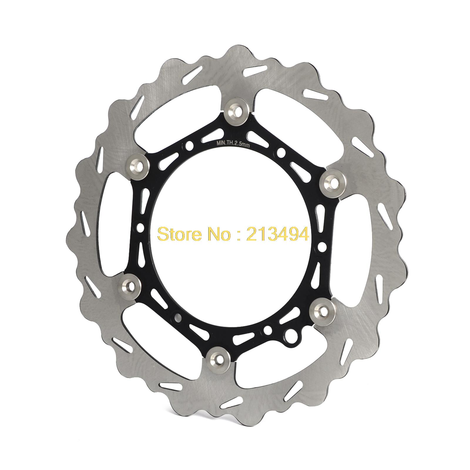 NICECNC Front Brake Disc Rotor For KTM 125 200 250 300 350 380 400 450 525 530 540 600 625 SX SXF EXC XC SXC XCW MXC XCF SXS front brake disc rotor for ktm 380 exc 1998 1999 2000 2001 2002 sx mxc 1998 2001 400 egs exc g xc w 2007 2008 2009 07 08 09