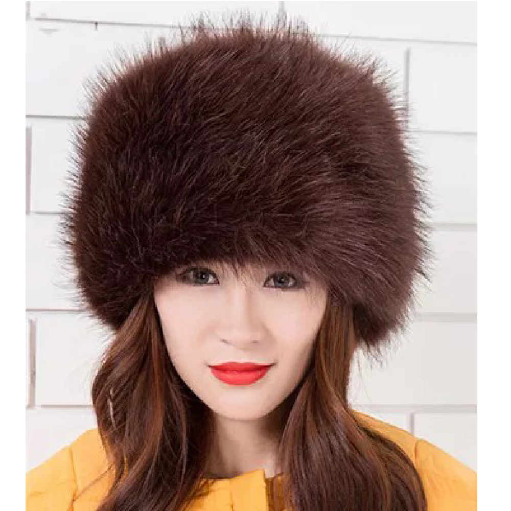 Image 5 - 2018 New Arrival Beanies Woman Hats For Winter White Black Party Hats Lady Warm Classic  Faux Fur Solid Female Skullies Hats-in Women's Skullies & Beanies from Apparel Accessories