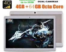 DHL Free 10 Inch Android 4GTablet 1280 800 IPS screen 8 0MP Dual sim card 4G