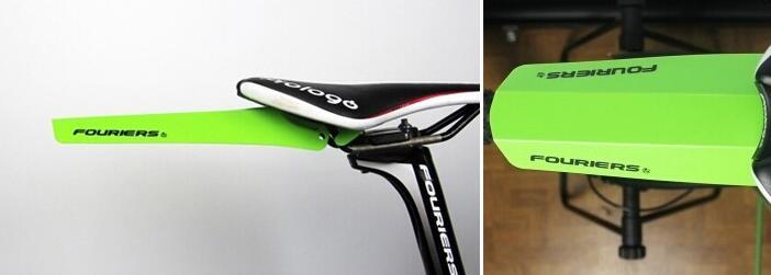 1pou Fouriers AC-MG002-R Apple Zelena kolesa kolesa Zadnji sedež - Kolesarjenje - Fotografija 3