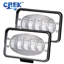 CREK 7X6 5X7 5 50W Offroad LED Driving Light Truck 4x4 SUV Headlight For 4WD Tractor Car ATV