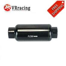 Vr гонки-Бесплатная доставка Высокое качество Топливные фильтры для мотоциклов AN10 (7/8-14unf) уплотнительное кольцо, 139.7 мм длина 100 микрон vr5578