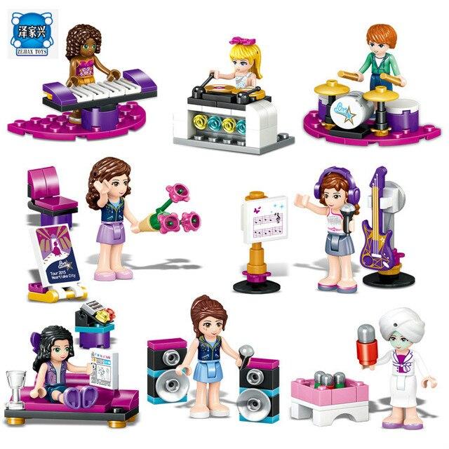 8 Sets Lot City Friend Princess Mini Doll Stephanie Mia Andrea Emma