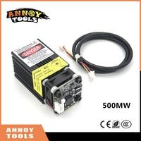 405nm 500mW 12V Laser Engraving Machine Part Laser Head Laser Module Wit TTL PWM Can Control