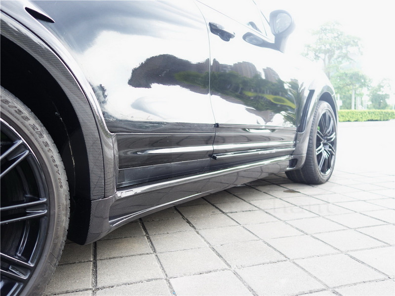2011-2014 Porsche Cayenne 958 Hamann Style Wide Aero Body Kit CF (44)