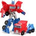 12 см Преобразования Optimus Prime Шмель Деформации Роботы Игрушки для Детей Фигурки Игрушки Развивающие игрушки Оригинальной Коробке 880106