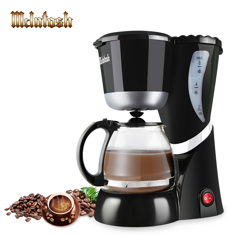Automatic DIY Drip Coffee Machine Mini Household Coffee Maker With Cafetera Intelligent Portable ...