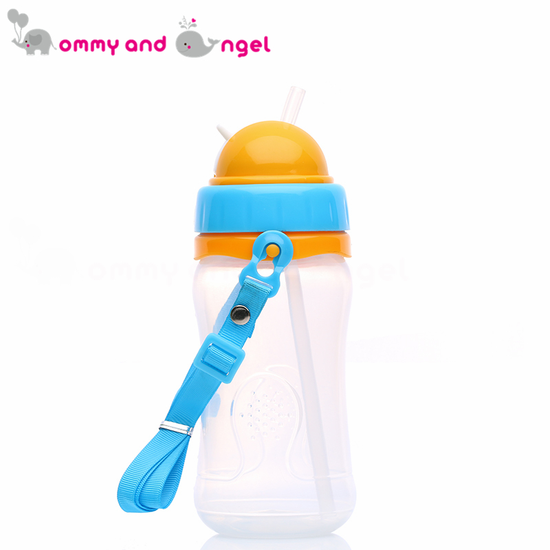 MOMMY AND ANGEL Calssic Boy&Girl Closer to Nature Fiesta Bottle Sippy Cup for Kid Straw Feeding Bottle (2 Colour,350ml,ABE/8085)