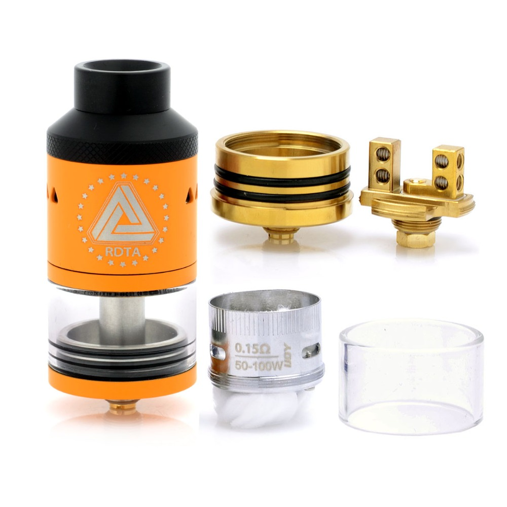 Original IJOY Limitless RDTA 6.9mL 25mm Classic Edition Rebuildable Dripping Tank Atomizer Interchangeable Deck for Vape Box Mod original ijoy limitless rdta classic edition tank 6 9ml huge capacity atomizer with side fill