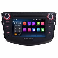 Two Din 7 Inch Capacitive Touch Car GPS Navigation For Toyota RAV4 2006 2012 Android 6