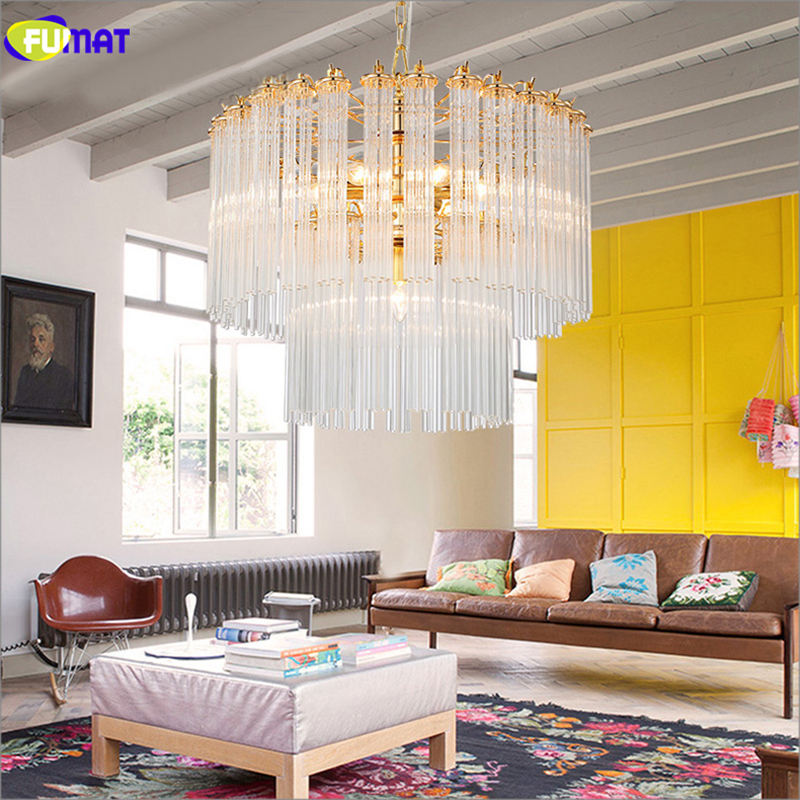 Modern Glass Pendant Lights Brief Gold + Clear Dining Room Bedroom Lights Postmodern Creative Suspension Lightings allenjoy photography backdrops white and gray brick wall brick floor backgrounds for photo studio photography studio backgrounds