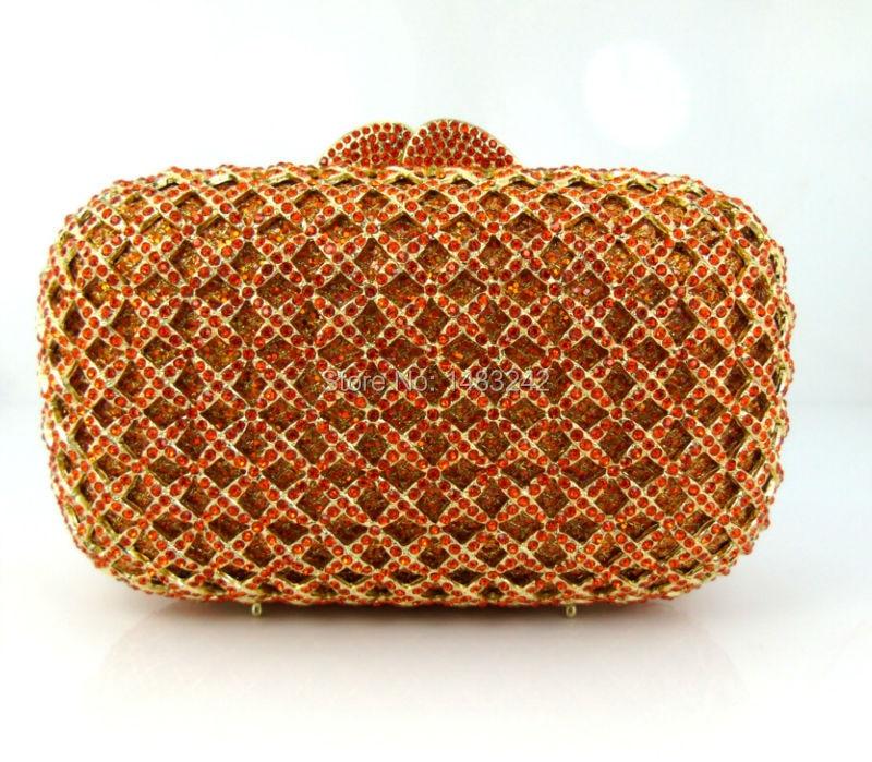 ФОТО GG1 2016 new design hot sale elegant and luxury Rhinestones African Handbag for wedding/party