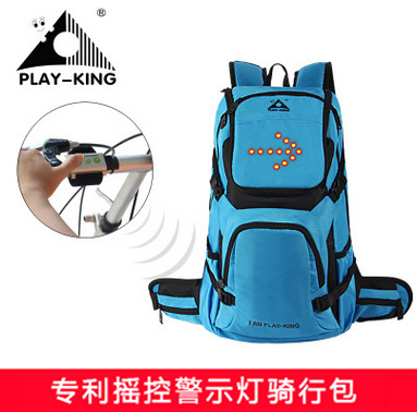 Playking outdoor riding bag, bicycle bag, male and female Backpack Travel Sports ventilation and waterproof riding bag anime death note cosplay anime backpack male and female student bag travel backpack