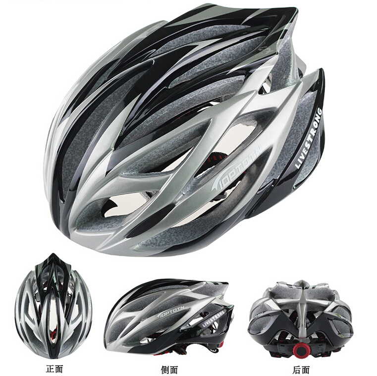 Nova TOPTETN kolesarska kolesarska moška ženska čelada EPS - Kolesarjenje - Fotografija 4