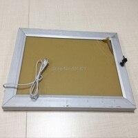A2 Single Side Weatherproof Waterproof Ourdoor Aluminum Frame Led Light Pockets with Lock,Swing Open