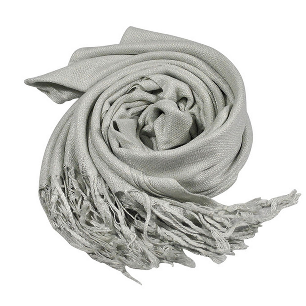 2016 New Thick Warm Women Winter Scarf Pashmina Wraps Large Long Shawl Imitation Cashmere Lady Solid Tassels Scarves 5 Colors
