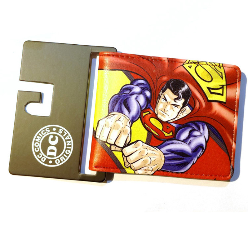 Dc Superman Cartoon Short Wallet the Assiassins Creed Purse Credit Oyster License Card FlashMan Batman Wallet ...