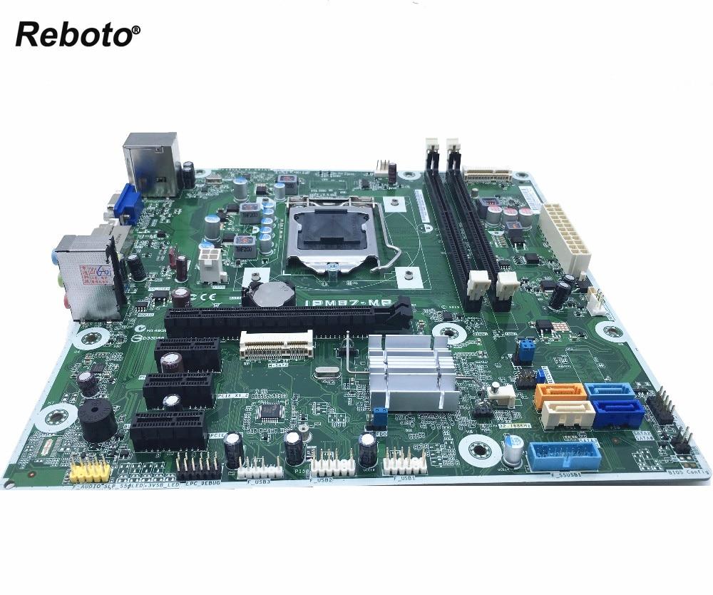 Reboto For HP IPM87 MP Desktop Motherboard LGA 1150 H87 707825 003 707825 001 100 tested