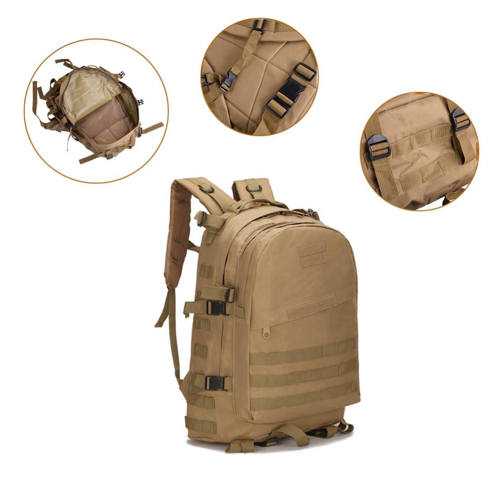 3D 40L Al Aire Libre Senderismo mochila Militar impermeable oxford bolsa de Viaj