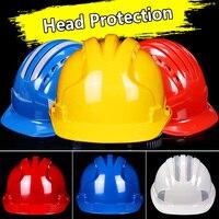 ABS Capacetes de Segurança de Proteção para a cabeça de Trabalho Tampa de Segurança Capacete de Segurança de Construção|Capacete de segurança| |  -