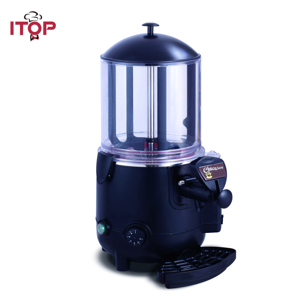 ITOP Electric Baine Marie Mixer.chocofairy 5L/10L Commercial Hot Coffee Milk Wine Tea Dispenser Machine Chocolate machine edtid new high quality small commercial ice machine household ice machine tea milk shop