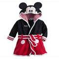 Free Shipping New Kids Micky Minnie Mouse bath robe ,Children baby Pajamas Robe roupao pijama bathrobes