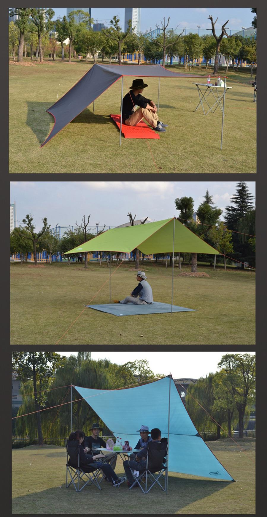 de acampamento lona rede lona, pérgola proteção
