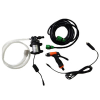 12V High Pressure Car Washer Gun Water Pump Self priming Electric Pressure Car Caleaning Guns Washing Machine