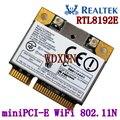 Rtl8192e 802.11b / g / n 300 M laptop de rede sem fio WIFI placa miniPCI - E meia altura CATD