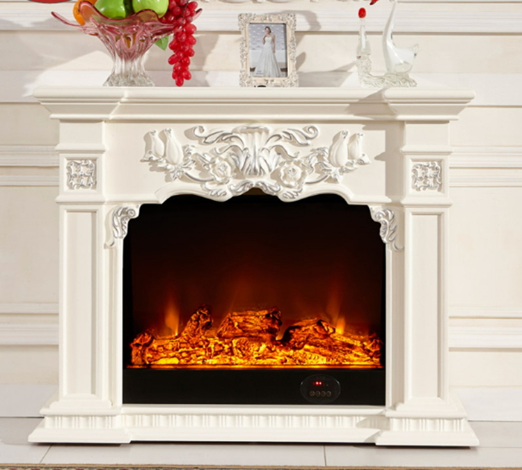 Free Shipping By Sea 8061 Indoor Freestanding Fireplace Mantel Mantel Aliexpress