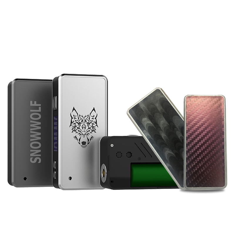 все цены на Preorder Sigelei Snowwolf 85W Mod Electronic Cigarette Box Shape Mod for Snowwolf 85W Mod Kit TC Vape Box Mod USB Cable