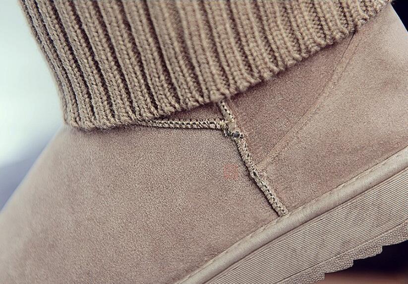 Neige khaki Black D'hiver Khaki Pour Cheville Noir Peluche rose 888 888 Super Femmes Hiver F332 888 Gray De Pink Botas Chaussures 888 Bottes Chaud En Chaussons Daim Mujer gris ABAcSWFXq