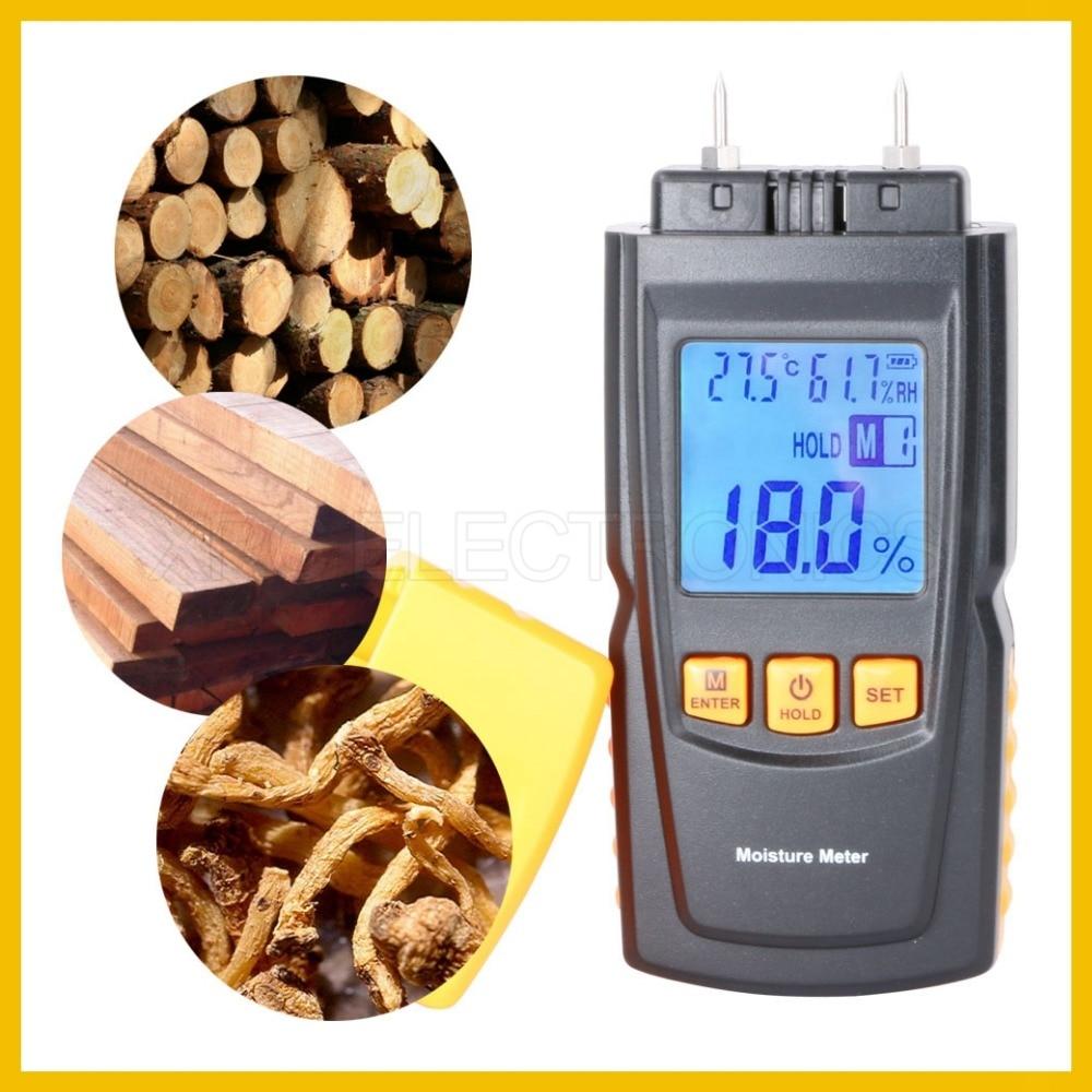 Misuratore di umidità per legno portatile RZ con design raffinato - Strumenti di misura - Fotografia 2