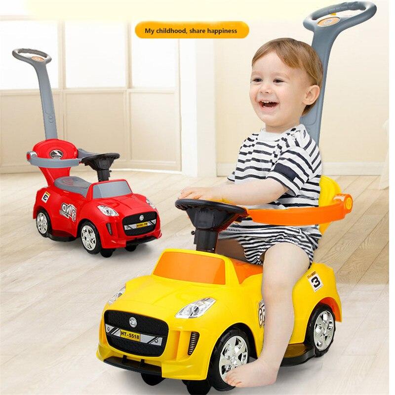 Enfants véhicule Scooter roulette voiture tordant équitation voiture marcheur petit bébé Ride sur les voitures pour les Sports d'intérieur en plein air jouets