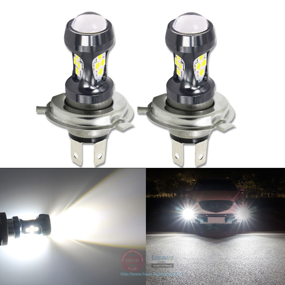 Eseastar 2Pcs Car <font><b>LED</b></font> Fog Lights <font><b>H4</b></font> Green for dodge caravan 2004 2003 2002 2005 Auto Fog Lamp H7 <font><b>Yellow</b></font> <font><b>Bulb</b></font> 9005 <font><b>LED</b></font> foglight image