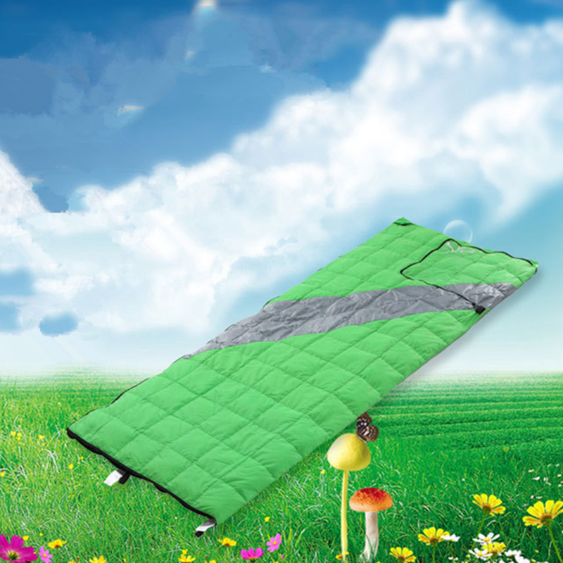 Image 5 - VILEAD 2 Colors Duck down Sleeping Bag as Pillow Lightweight Camping Stuff Hiking Sleeping Winter Ultralight Adult Camp Quilt-in Sleeping Bags from Sports & Entertainment