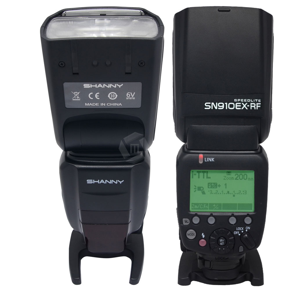 Shanny SN910EX-RF i-TTL GN60 1 / 8000s 2,4 GHz Funkübertragung Blitz - Kamera und Foto - Foto 2