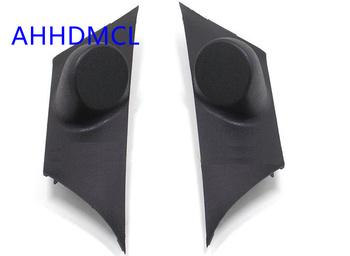 Szyny głośnikowe do montażu głośników samochodowych uchwyty deski rozdzielczej Audio dla Civic 2010 2011 tanie i dobre opinie Skrzynek głośnikowych Car dashboard audio tweeter refitting Black ABS+PC AHHDMCL 0 25kg