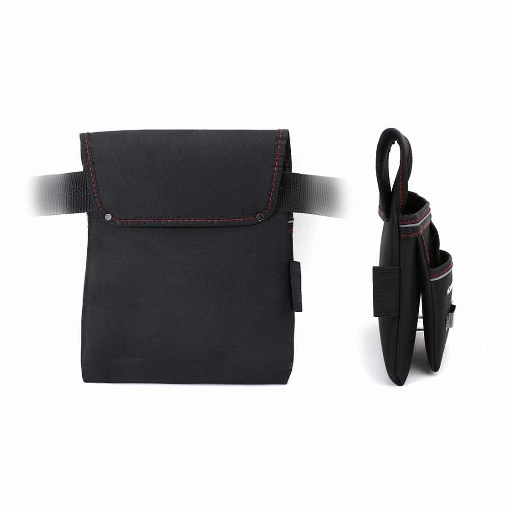 WORKPRO Heavy Duty Tool Pouch with Adjustable Belt Electrician Waist Tool Bag Multifunction Belt Tool Pouch