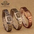 Ladies thin Bracelet Square Wristwatches women clocks Luxury female watch quartz waterproof Tungsten steel Diamond fashion