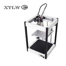 2018 новые 3D принтер большой 220*220*290 мм металлический каркас высокое качество точность DIY kit ЖК-дисплей Ultimaker2 UM2