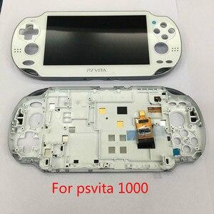 Image 3 - Pantalla Lcd 100% para Playstation PS Vita PSV 1000 1001, digitalizador táctil, Marco, 4 colores, novedad, envío gratis