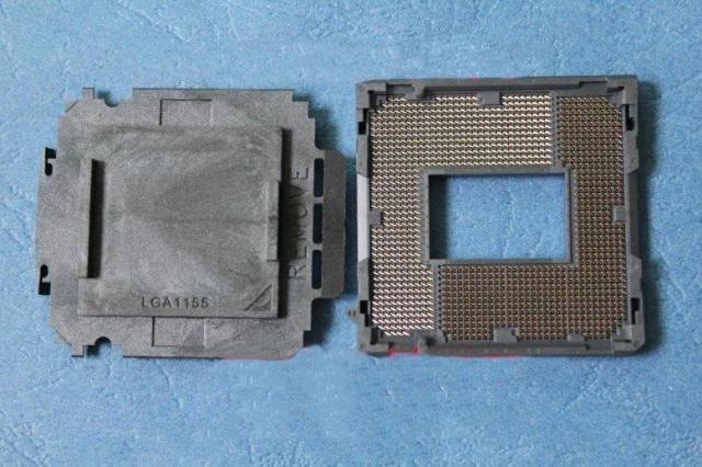 6pcs---New LGA 1155 CPU BGA Soldering Motherboard Socket w/ Tin Balls new lga 1155 cpu bga soldering motherboard socket w tin balls
