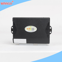 WINSGO Auto For Nissan March 2010+ Car Power Control by Key Window Closer Closing & Open