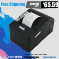 XP-C58K small receipt printer auto cutter 58mm thermal printer gearshifts paper function usb 58mm thermal printer