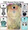 Phone Cases For Huawei GR5 Honor5X Honor Play 5X Honor7 7I shot x Honor7I KIW-TL00 Mate7 Mini Animal Back Cover Skin Housing Bag