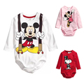 Baby Rompers Spring Baby Boys Clothing Roupa Bebes Newborn Baby Clothes Cartoon Long Sleeve Baby Girl Clothes Infant Jumpsuits