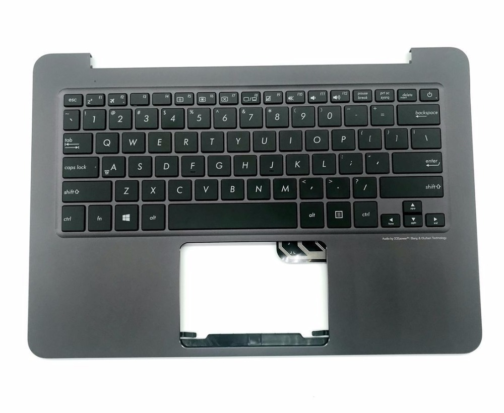 New for Asus ZenBook UX305 UX305LA UX305UA UX305CA UX305F laptop US keyboard with palmrest for asus ux305 ux305ca ux305la ux305fa 13 3 inch touch panel with digitizer
