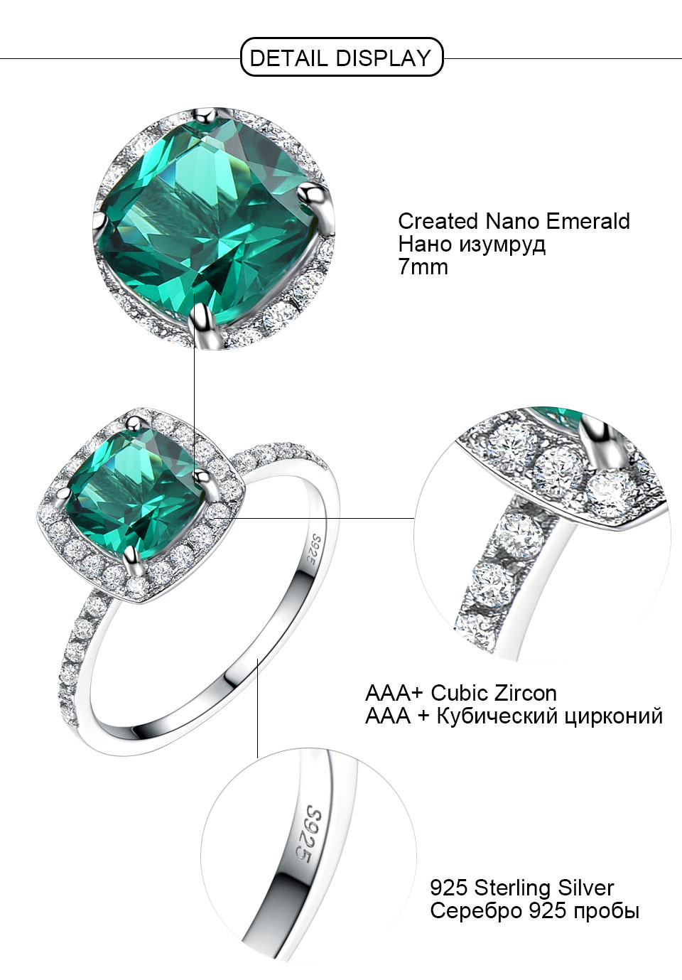 UMCHO-Emerald-925-sterling-silver-rings-for-women-RUJ007E-1-PC_05